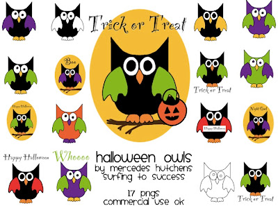 displaying 17 gallery images for halloween owls clip art