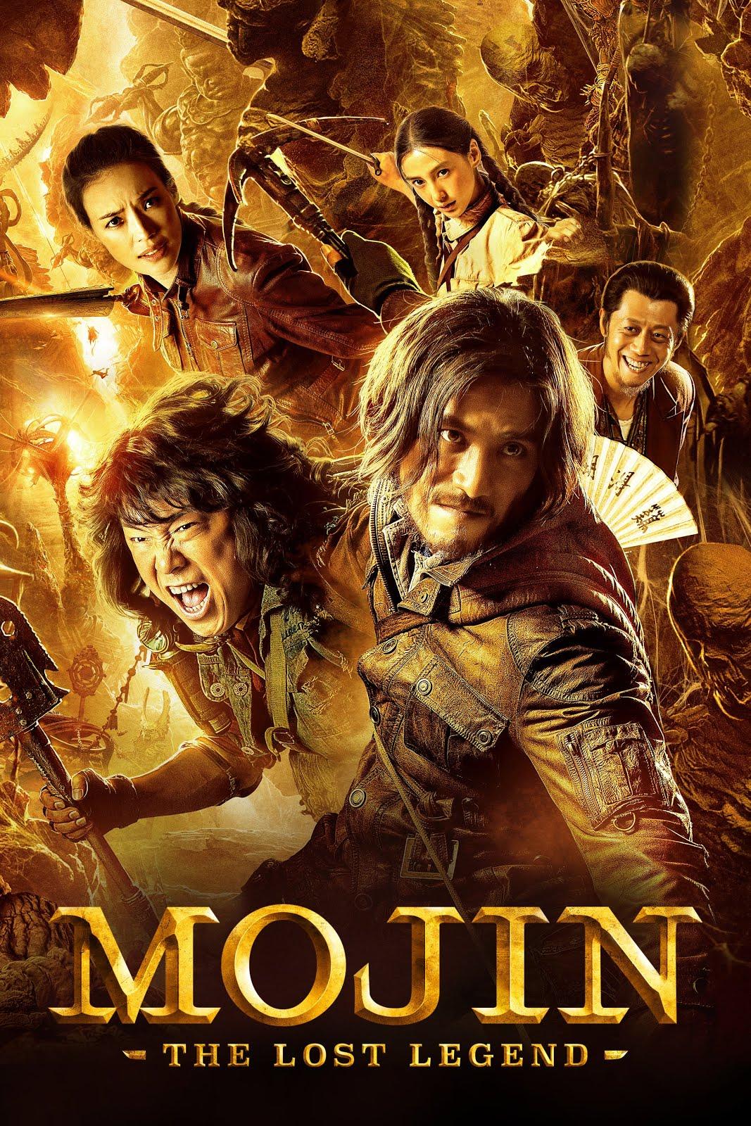 Mojin The Lost Legend 2015 300MB Hindi Dual Audio BluRay 480p ESubs