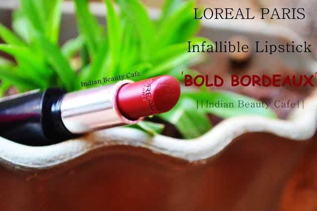 Loreal Infallible Lipstick Review, Swatch, Price, Buy Online India