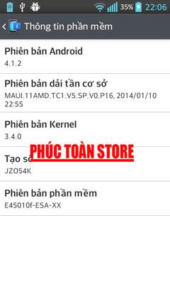 LG E450 treo khi format flash KDZ done alt