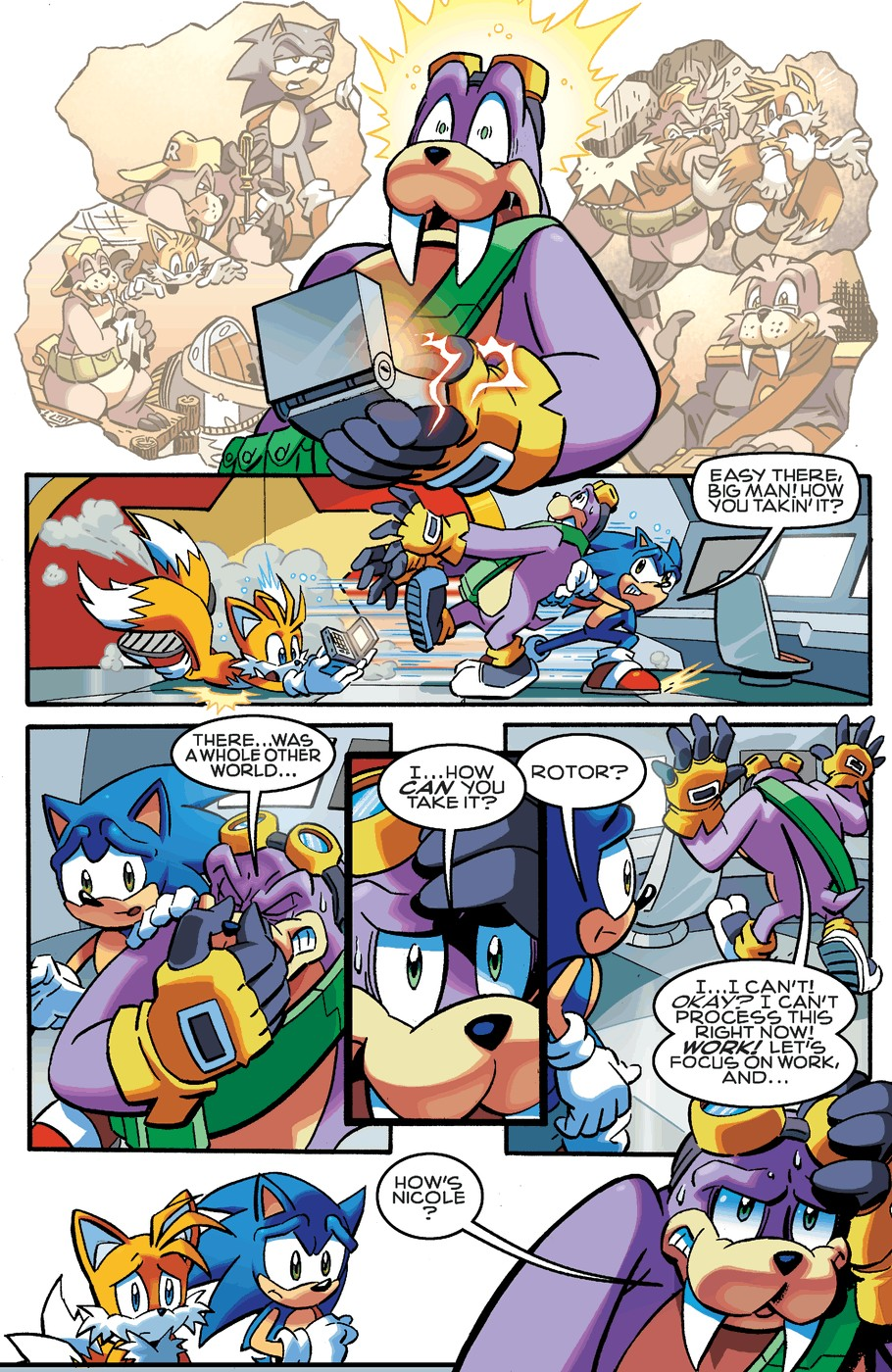 Read online Sonic The Hedgehog comic -  Issue #253 - 19