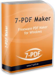 تحميل برنامج تحرير وفتح ملفات البى دى إف للكمبيوتر 7PDF Maker