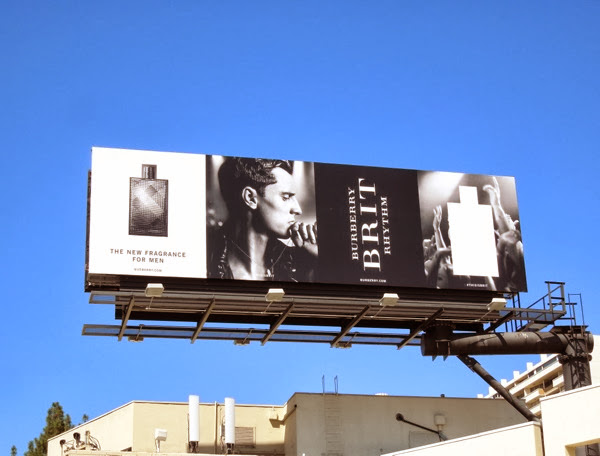 Burberry Brit Rhythm fragrance billboard