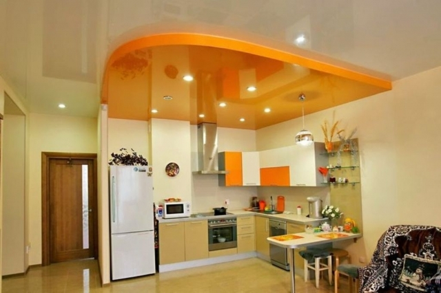 Gorgeous Kitchens 25 gorgeous kitchens designs with gypsum false ceiling & lights
