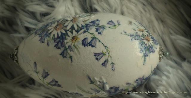 PISANKI… niebiesko – białe