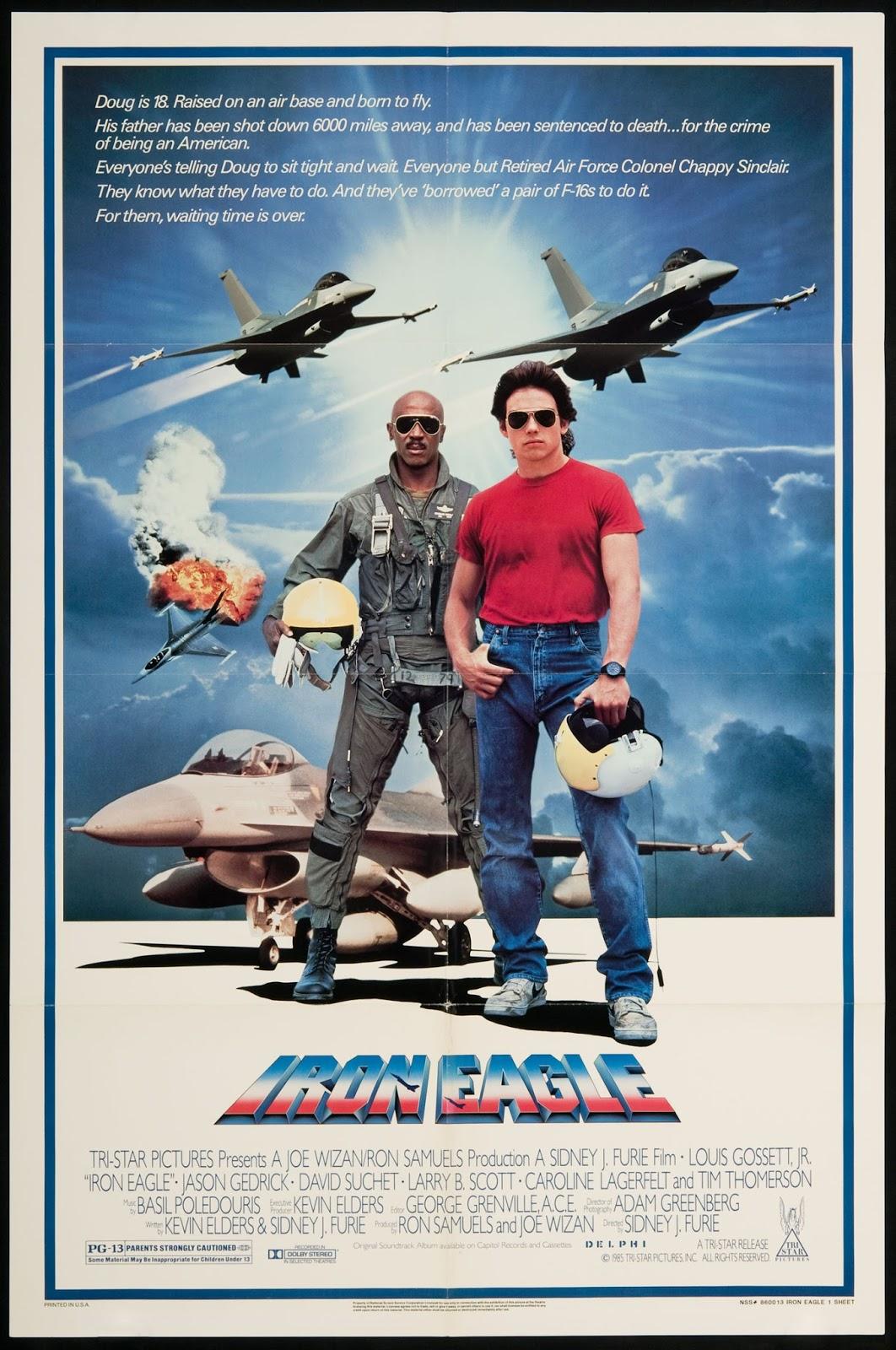 Iron Eagle (1986) ταινιες online seires xrysoi greek subs