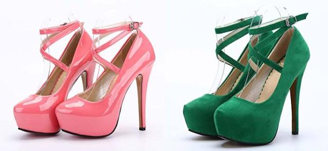 zapatos charol o terciopelo
