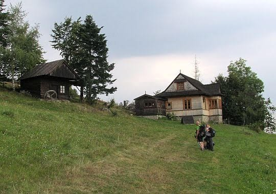 Skansen na Studzionkach.