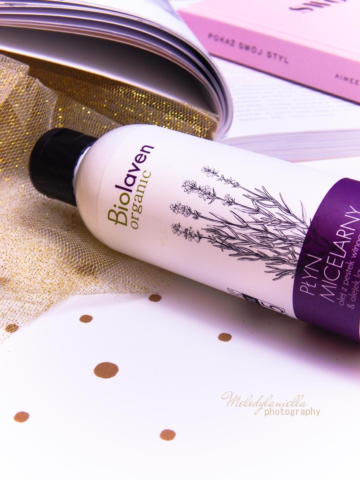 6 biolaven organic płyn micelarny olej z pestek winogron olejek lawendowy kosmetyki do demakijażu test płynu micelarnego melodylaniella twój styl 2015 polskie blogerki urodowe
