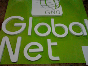 global net - Letras en mdf