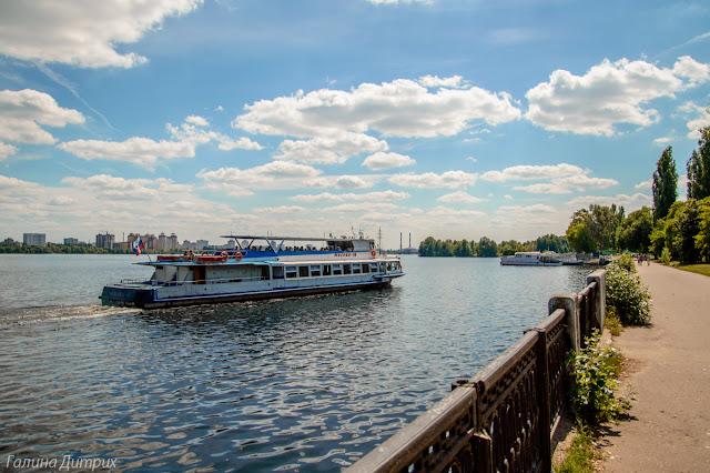 Теплоход в Воронеже
