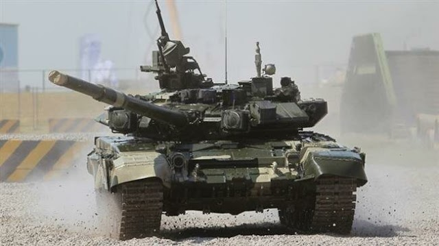 Iraqi army receives more T-90 battle tanks from Russia to boost ground force