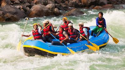 river rafting - adventure sports - meraki