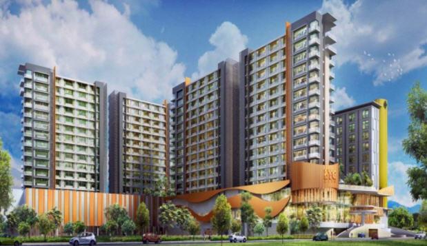 LRT City Bekasi Timur Eastern Green