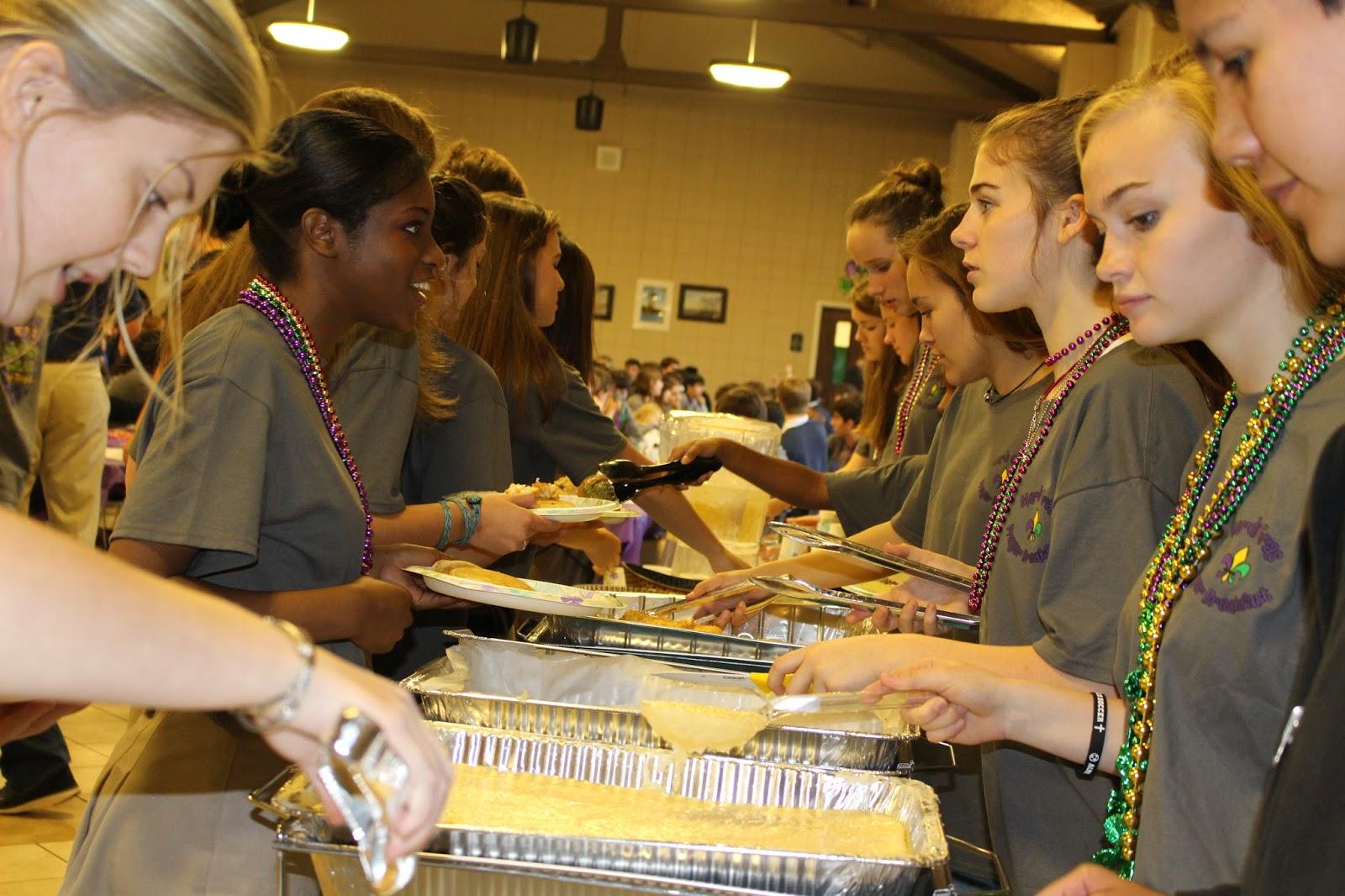 Montgomery Catholic Preparatory News Montgomery Catholic Hosts 17th Annual Mardi Gras Prayer