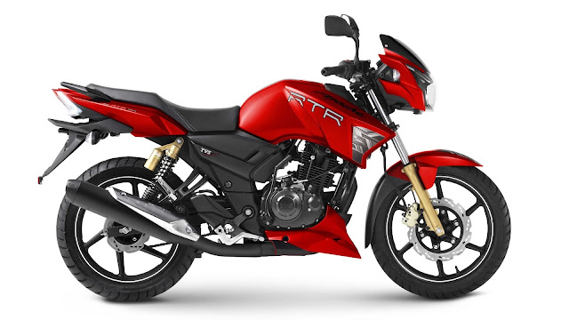 Apache RTR 160 Red Edition Wallpaper