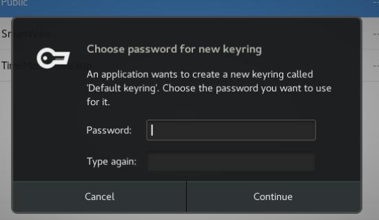 Quick Fix: Gnome login keyring password