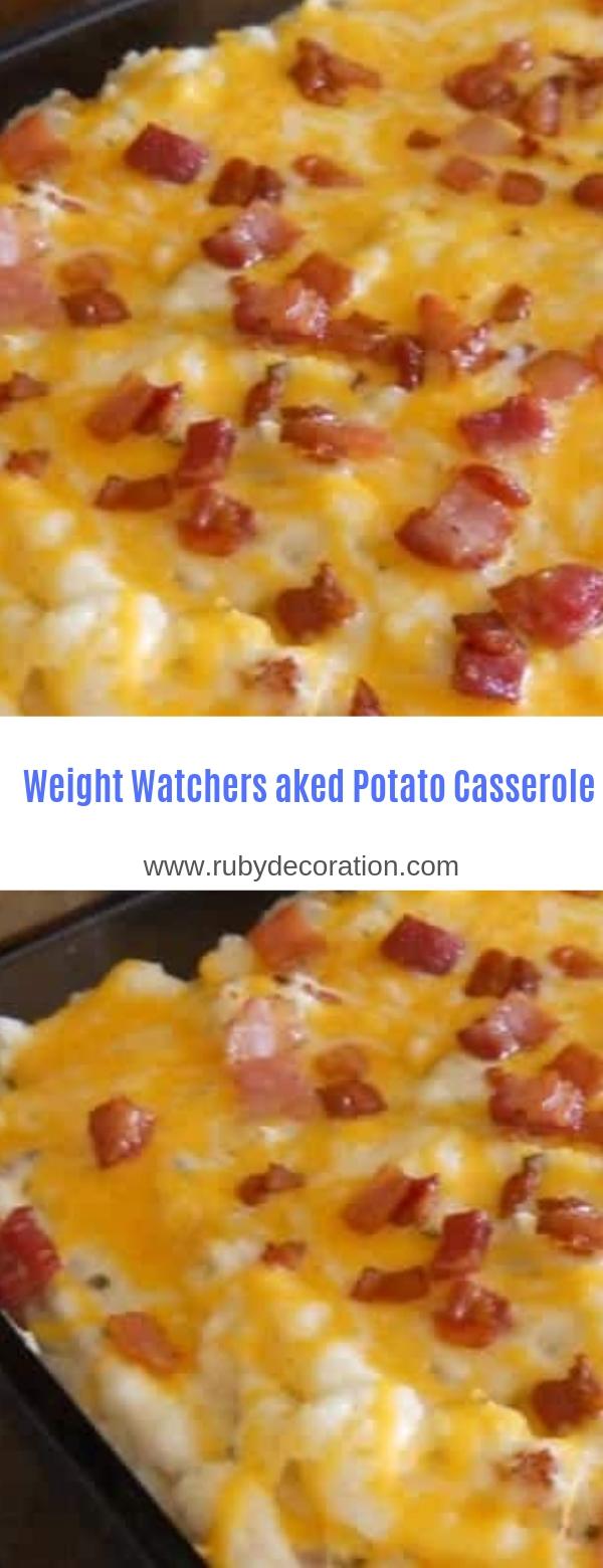 Weight Watchers Baked Potato Casserole