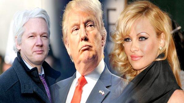 باميلا أندرسون تهاجم الرئيس الأمريكي بسبب صحافي وكيليكس