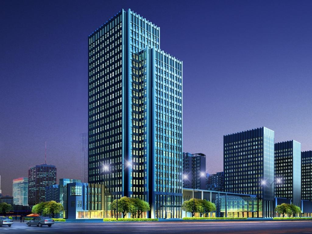 Edificios y tecnología.