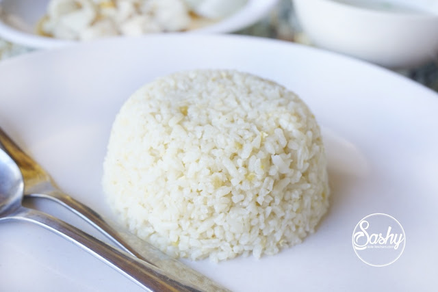 nasi ayam hainan ala Warung Popo -Kuta