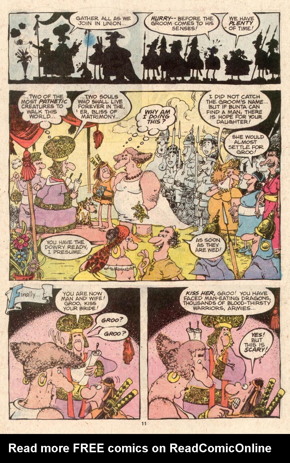 Read online Sergio Aragonés Groo the Wanderer comic -  Issue #42 - 11