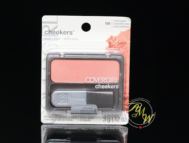 a photo of Cover Girl Cheekers Blush in Pretty Peach