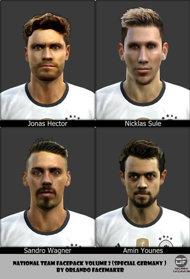 Germany Facepack PES 2013