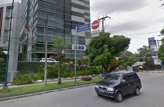 Lokasi ATM Bank BCA Setor Tunai (CRM) MEDAN