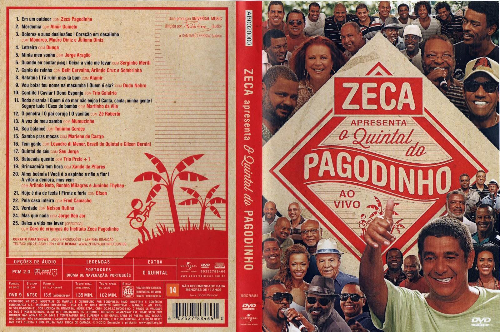 PAGODINHO BAIXAR MTV ZECA DVD