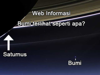 Bumi dari Saturnus