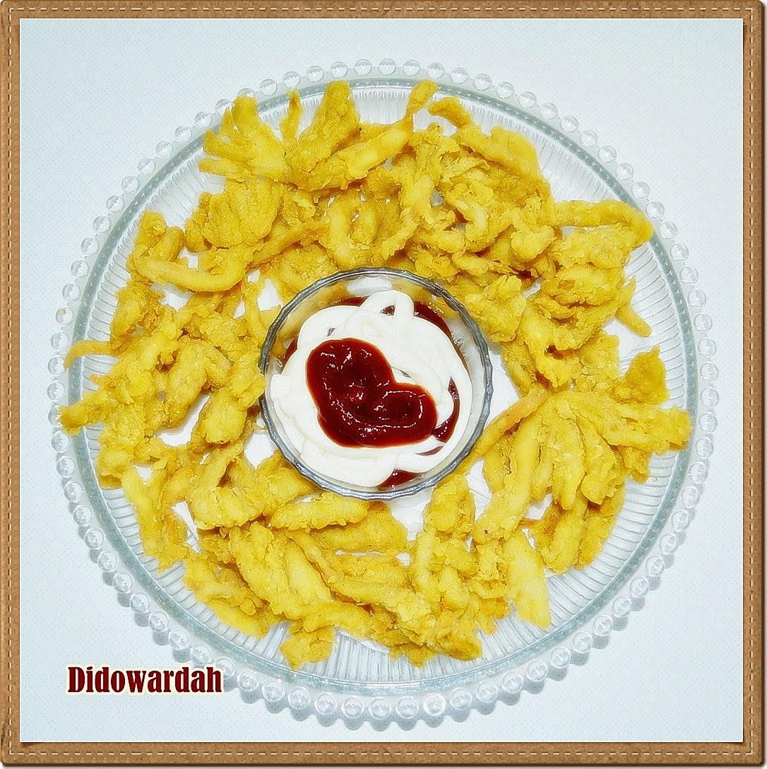 Dapur Didowardah: Resep Masakan Sehari-hari: Jamur Crispy