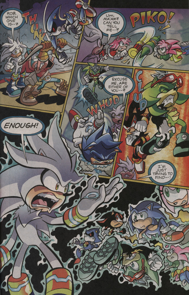 Read online Sonic The Hedgehog comic -  Issue #195 - 17
