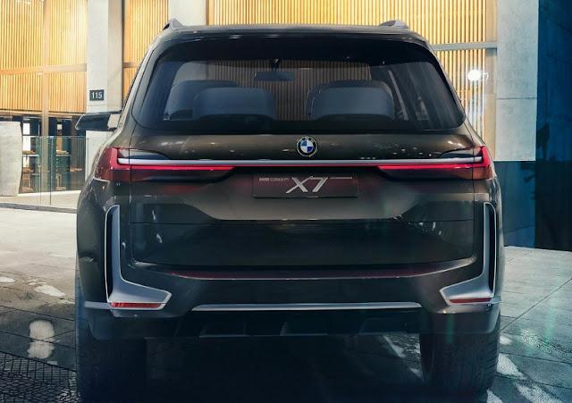 New BMW X7 iPerformance Concept