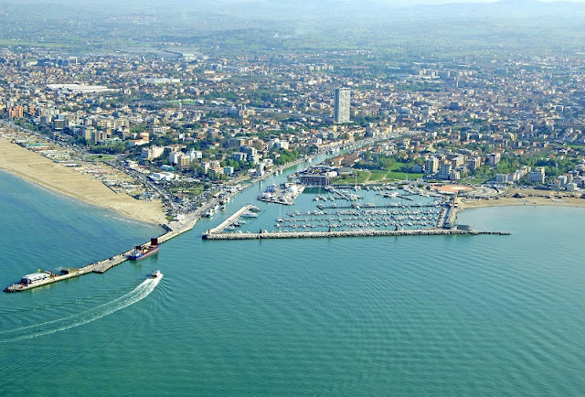 Vista da cidade de Rimini