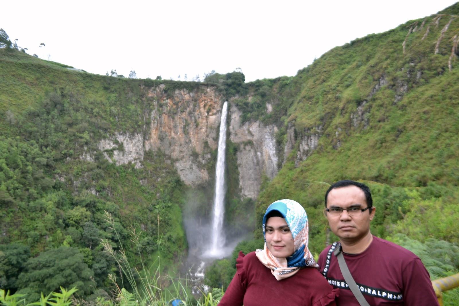 Sipiso-Piso Waterfall North Sumatra