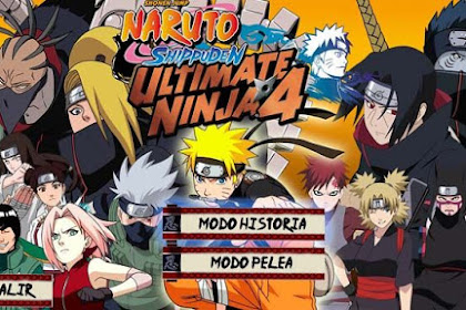 How to Download Game Naruto Shippuden Ultimate Ninja 4 for Computer PC or Laptop