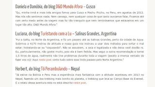 blog Mineiros na Estrada