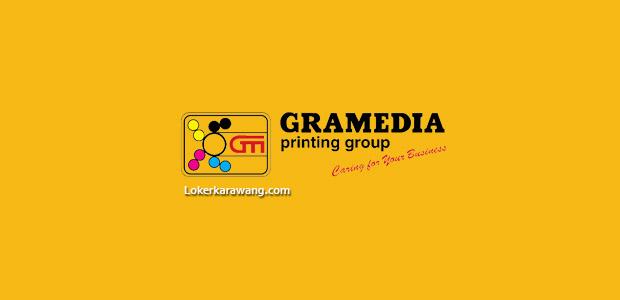 Lowongan Kerja PT. Gramedia Printing Purwakarta