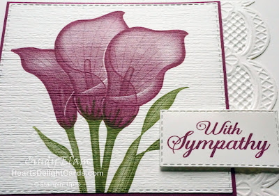 Heart's Delight Cards, Lasting Lily, Sympathy, Sale-A-Bration 2019, Occasions 2019, Stampin' Up!