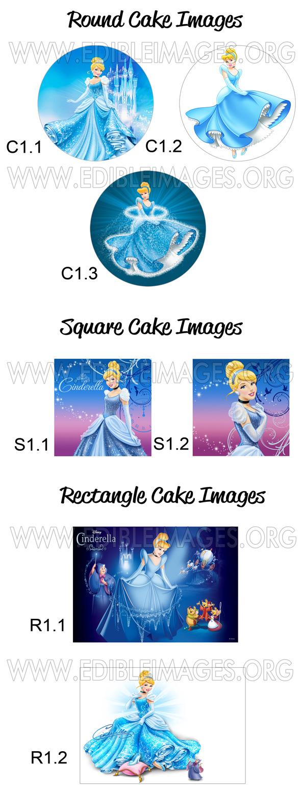Edible Image Cinderella