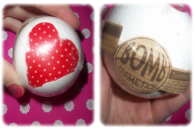 Boule de Bain Summer of Love - Bomb Cosmetics - Glossybox Février 2012