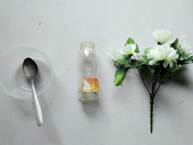 bahan-bahan diy vas bunga
