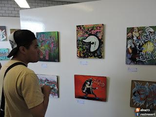 exposición pictórica Style Graff ENAH
