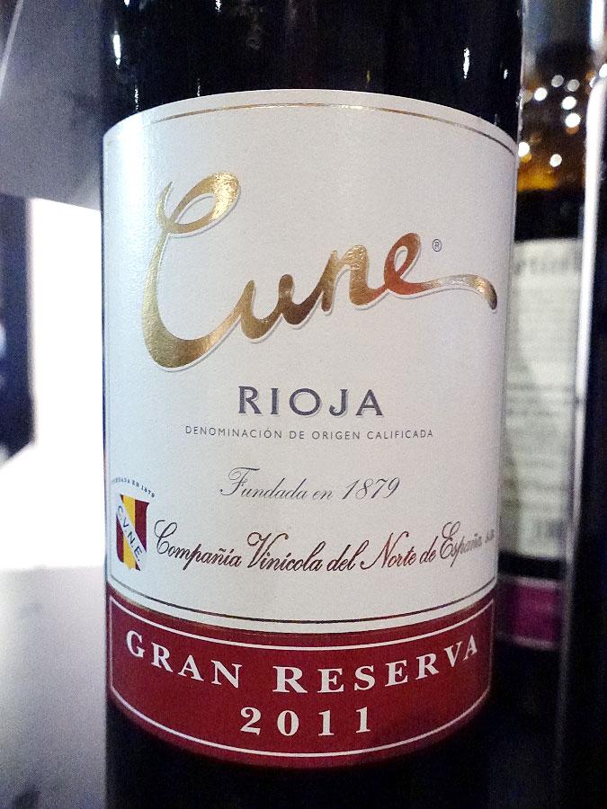 Cune Gran Reserva 2011 (92 pts)