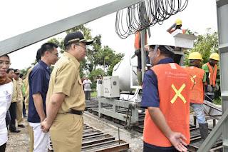 Launcing RTG,Gubernur  Dr Zul Harap perkerjakan tenaga lokal