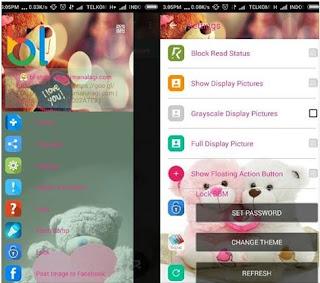 BBM Whatsapp Mod Teddy Bear