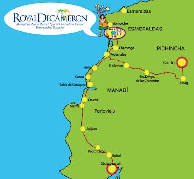 como llegar - Royal Decameron Mompiche – Esmeraldas - Atacames