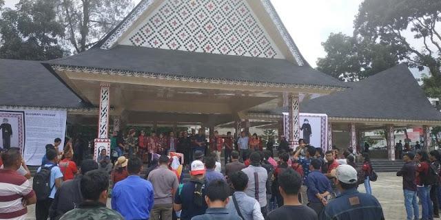 Etnis Simalungun Tuntut Pemko Siantar Lanjutkan Pembangunan Tugu Raja Sangnaualuh