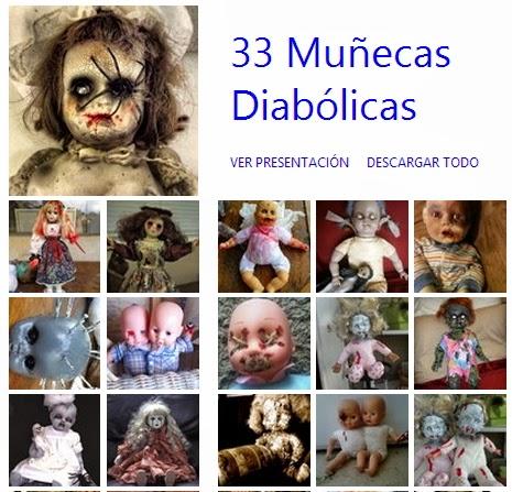 muñecas terroríficas, dolls halloween, diys, manualidades, fiestas